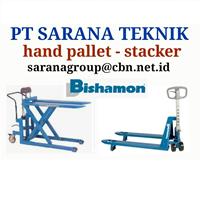 Hand Pallet Manual Bishamon