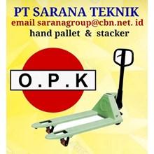 Hand Stacker OPK STACKER PT SARANA TEKNIK HAND PALLET