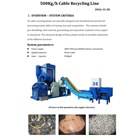 Cable Recycling Line 1