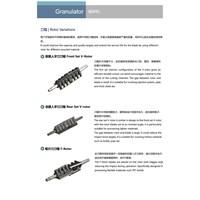 Rotor Variatons - Granulator