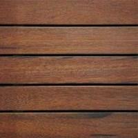 Narrow Deck In Hardwood -  Lantai Kayu Parket