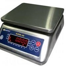 Waterproof table scales