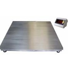 Stainless floor scales