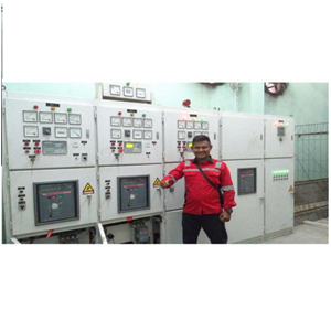 Service Panel Genset By CV. Ahesy Engineering