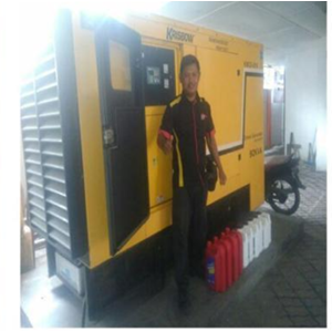 Service Genset Silent Krisbow By CV. Ahesy Engineering
