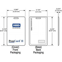 Dari Kartu Akses Kontrol HID-1326 ProxCard II® Clamshell Card 2