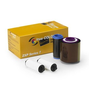 Tinta Printer or Ribbon Zebra ZXP Series 7 YMCKO 250 Image PN#: 800077-740