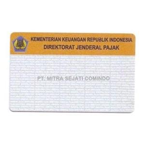 Terima Cetak Blanko NPWP By PT Mitra Sejati Comindo