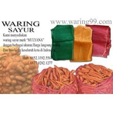 Produk Plastik Pertanian Karung Jaring Waring Sayuran 50 X 80