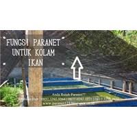 Produk Plastik Pertanian Paranet Kolam Ikan Warna Hitam