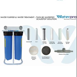 Twin BB Waterpro Scalestop Solution