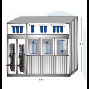 Paket Depo Isi Ulang Air Minum (Mineral Dan RO)