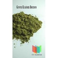 Jamu Dan Obat Alami Green Kratom Borneo Powder (Mitragyna Speciosa)