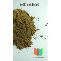 Jamu Dan Obat Alami Red Kratom Borneo Powder (Mitragyna Speciosa)