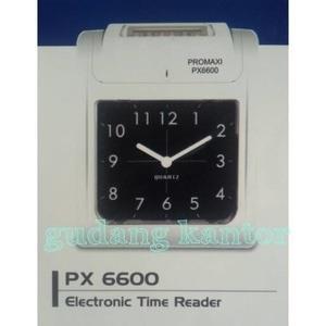 Mesin absensi kartu Pomaxy PX6600