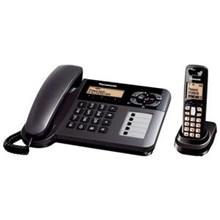 Cordlees Panasonic Telepon KXTG 6458