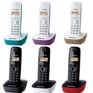 Cordlees Panasonic Telepon KXTGB 1611