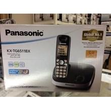 Cordlees Panasonic Telepon KXTG 6511