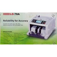 Mesin Hitung Uang (Money Counter) Secure LD 78 1
