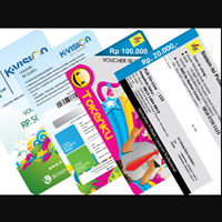 Voucher Scratch Card For Pre-Paid Token 1