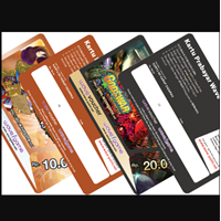 Voucher Scratch Card For Online Game Voucher