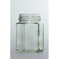 85Ml Hexagon Glass  Bottle P007