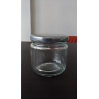 P012 210Ml Round Glass Jar