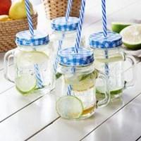 P022  450Ml Mason Jar Ice Cold Drink