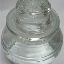 Botol Toples Jar Kaca Beling Decoratif & Bundar 250Ml