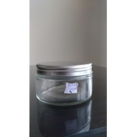 Jual Strait Round Glass Jar 250Ml P037