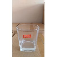 Jual 280Ml Square Drinking Cup P053 2