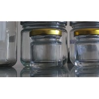40ml Round Glass toples P027