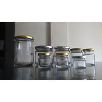 Jual P027 40Ml Round Glass Jar 2