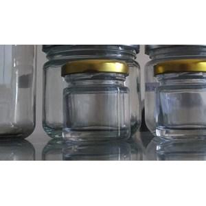 P027 40Ml Round Glass Jar
