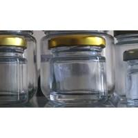 Jual 30ml Round Glass Jar P013