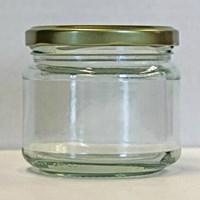 Jual P024 25 Ml Round Glass Jar  2