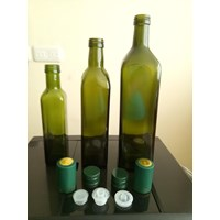 500ml Square Tall Glass Bottle P039