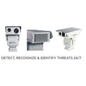Dari Kamera CCTV Jarak Jauh Dengan IR ZLID Laser Illumination 0
