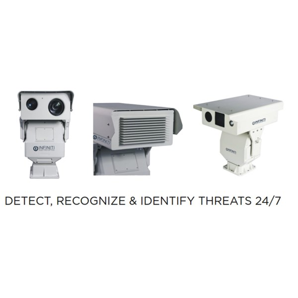 Long-Range CCTV Camera with IR ZLID Laser Illumination