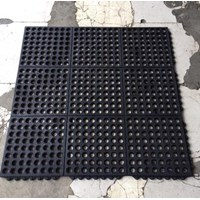 Jual Rubber Mat Perforated holes ( karet keset bolong bolong )