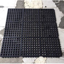 Rubber Mat Perforated holes ( karet keset bolong bolong )