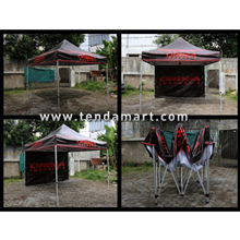 Tenda Lipat Hexa Steel  3 x 3 m