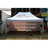 Jual Tenda Lipat 4mx6m Hexa Aluminium