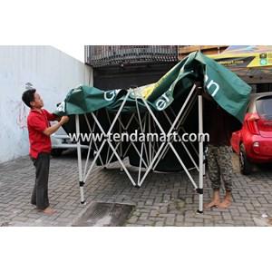 Tenda Lipat 3M Hexa + Sablon