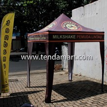 tenda lipat 2mx2m Milk Shake