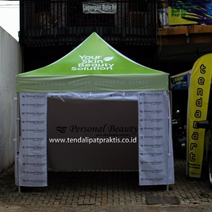 Tenda Lipat 3m Hexa Personal Beauty