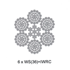 Wire Rope 6 X Ws36 + Iwrc 1