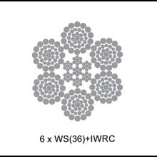 Wire Rope 6 X Ws36 + Iwrc