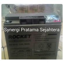 Baterai Kering Rocket Es 18-12 (12V 18Ah)