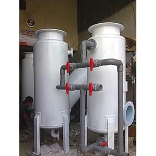 Sand filter and carbon filter